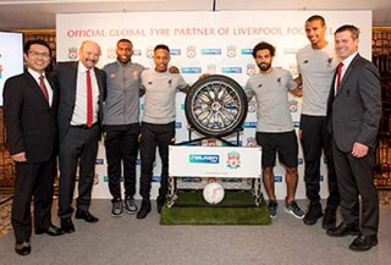 FALKEN Announces Global Partnership with Liverpool FC