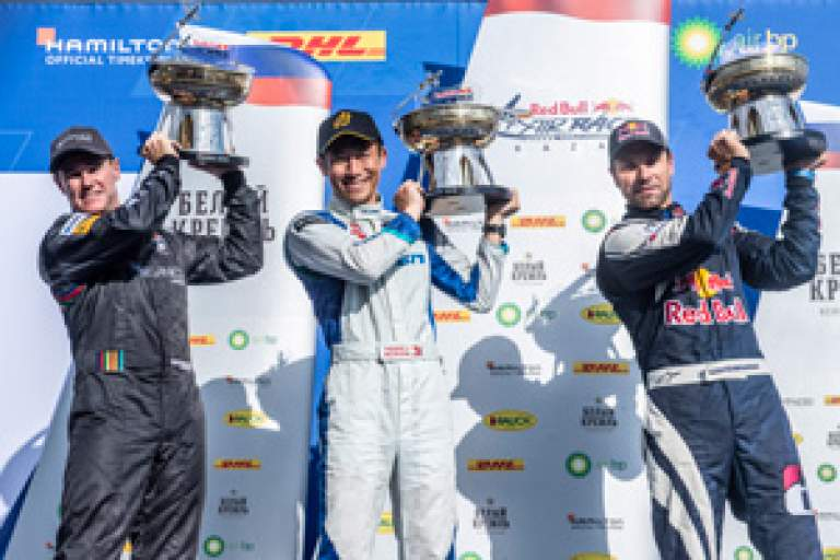 Team FALKEN's Yoshihide Muroya Wins Second Consecutive Race in Second Race of the Red Bull Air Race World Championship 2019